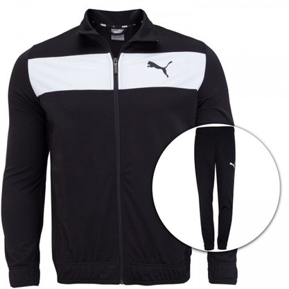 Agasalho Puma Techstripe Tricot Suit Masculino 581595-01