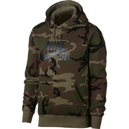 Blusão Moletom Nike Sb Hoodie Icon Erdl Masculino AT9755-222