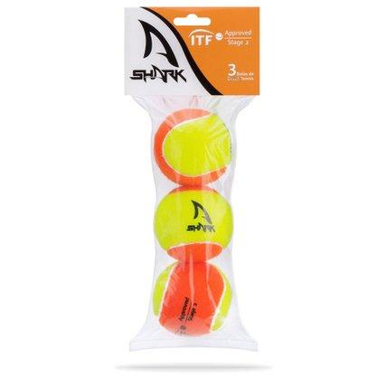 Bola Beach Tennis Shark c/ 3 un SHB001