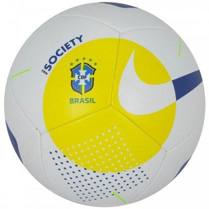 Bola de Futebol Nike Society CBF SC3977-101