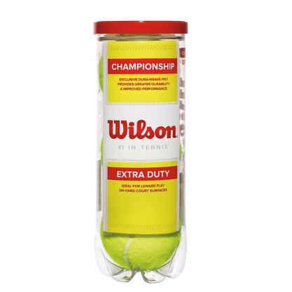 Bola Tennis Wilson Championship C/ 03 Uni Amarelo WRT1001P