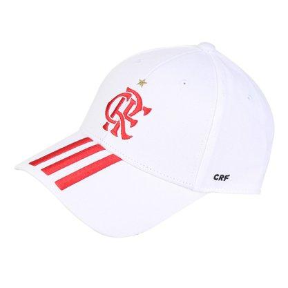 Boné Adidas Flamengo Aba Curva FJ0972