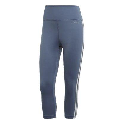 Calça Legging 3-4 Adidas D2M 3S Feminina EI4845