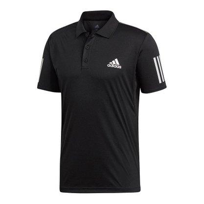 Camisa Polo Adidas Club 3 Stripes Masculina DU0848