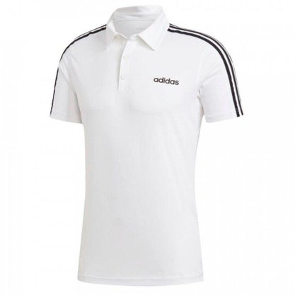 Camisa Polo Adidas D2M 3s Masculina DU1258