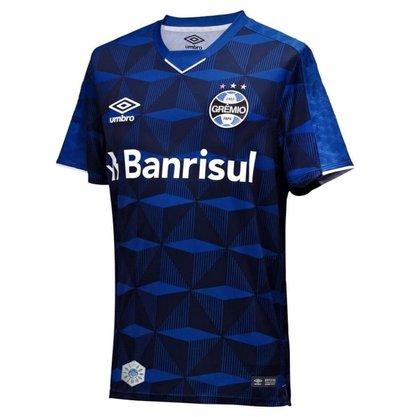 Camiseta Umbro Grêmio Oficial 3 Fan Classic 2019 893574-727