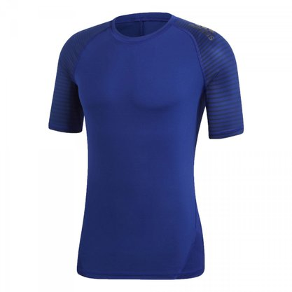 Camiseta Adidas Alphaskin Sport Graphic Masculina CD7199