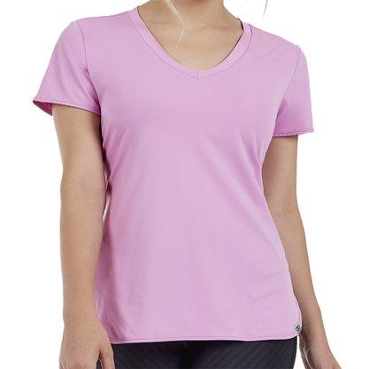 Camiseta Alto Giro Skin Fit Alongada Feminina 2011701-C5011