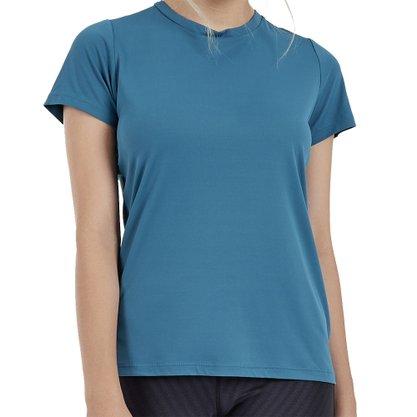 Camiseta Alto Giro Skin Fit Feminina 2011703-C0994