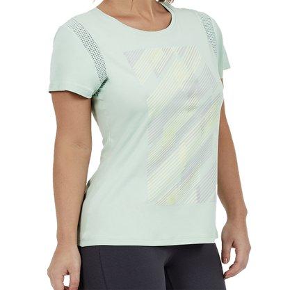 Camiseta Alto Giro Skin Fit Feminina 2012730-C5010