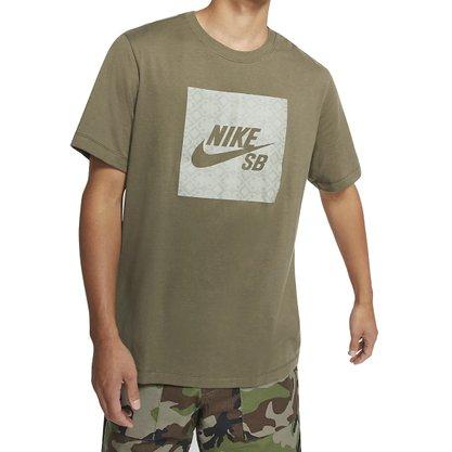 Camiseta Nike Sb Logo Nomad Masculina CJ0444-222
