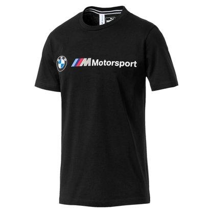 Camiseta Puma BMW Motorsport Logo Masculina 595369-01