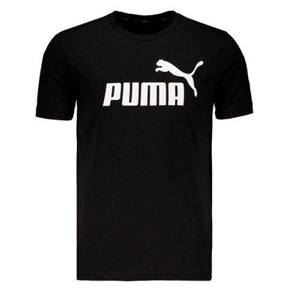 Camiseta Puma Essentials Logo Masculina 851740-01