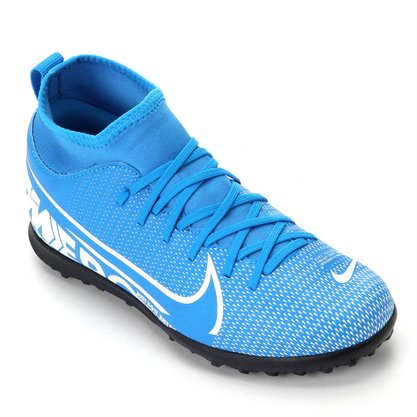 Chuteira Society Infantil Nike Superfly 7 Club AT8156-414