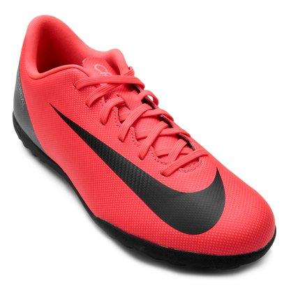 Chuteira Society Nike Vapor 12 Club Cr7 Masculino AJ3738-600