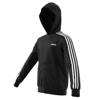 Jaqueta Moletom Infantil Adidas Essentials 3 Stripes DV1823