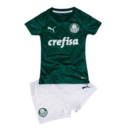 Kit Infantil Puma Palmeiras I 20/21 s/n° Torcedor 704742-01