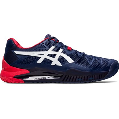 Tênis Asics Gel Resolution 8 Clay Masculino 1041A076-400