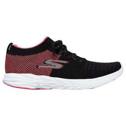 Tênis Skechers Go Run 6 Feminino 15209-BKHP