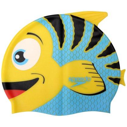 Touca Natação Speedo Fish Infantil 528815-010